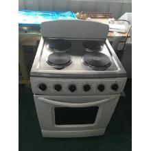 Электрический 4 горелки плита с электрической духовкой