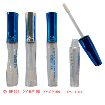Seductive Blue Lipgloss Container