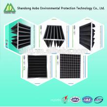 High Temperature Nonwovens durable in use Active carbon fiber felt, Active carbon air filter, Active carbon filter cloth