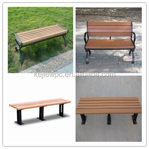 For Bench, Park Bench Slats, Teak Bench Slats Hot Sale Wood Plastic Composite Garden Wooden Garden Chair Outdoor Furniture WPC