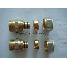 Pex-Al-Pex Rohr oder Aluminium Kunststoffrohr aus Messing Fitting (KTM)