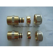 Tubulação Pex-Al-Pex ou Tubulação Plástica de Alumínio de Latão (KTM)