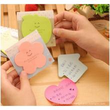 Mini notes collantes Notes collantes avec PP Backcard