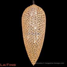 Lustre moderne pour le lustre de lumière de forme de feuille de salle à manger dans 71108