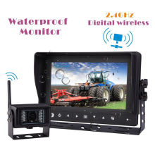 Wireless Waterproof Monitor System for Farm Tractor