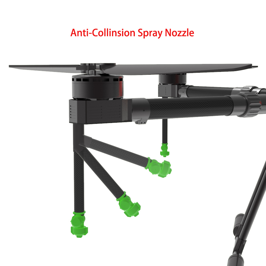 anti collision nozzle