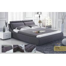 Современные ткани кровати для спальни (777B)