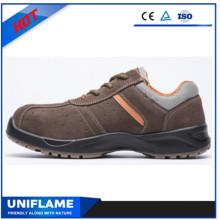 Кожа верхних причудливый свет безопасности обувь Ufa024