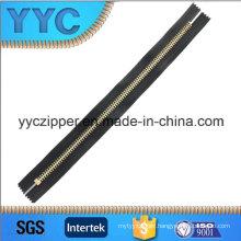 8# High Polished Y Teeth Metal Zipper Giant Zipper