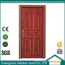 Personalizar la puerta de seguridad de acero de entrada de alta calidad para casas