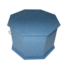 Hexagon Paperboard Folding Box / Gift Packing Wholesale