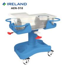 DW-918 Medical Luxury ABS Trolley Baby Hospital Bassinet