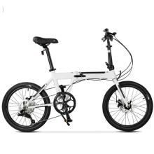 """20"""" 9s Aluminum Alloy White Fashionable Folding Bike"""