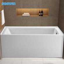 Seawin Family Bathroom Freestanding Soaking Deep Soaking Acrylic Bathtub