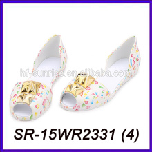 fashion design pvc jelly water shoes pvc jelly shoes for south africa plastic beach shoes