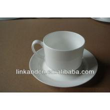 KC-00563 taza de café de cerámica con platillo