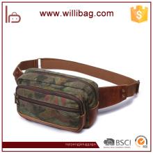 Bolso de cintura corriente militar del cuero del estilo del camuflaje popular para el hombre