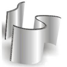 Materiales de Decoración Paneles Alveolados de Aluminio Curvo