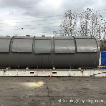 Lanning Rubberafval Recycling Machine