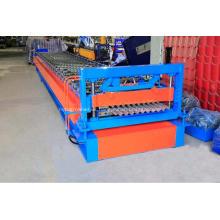 Galvanized corrugated steel sheets forming machine IBR