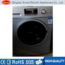 Uso doméstico carregamento frontal totalmente automático de lavar e secar roupa