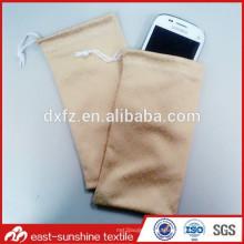Изготовление цифровой печати сделано в Кита изготовленный на заказ мешок мобильного телефона вышивки