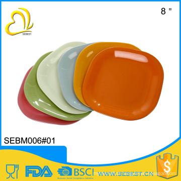 alta qualidade melhor venda de produtos de 12 polegada de plástico placa de bambu quadrado