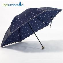 20 Zoll 3 Klapphandbuch öffnen japanischen Regenschirm