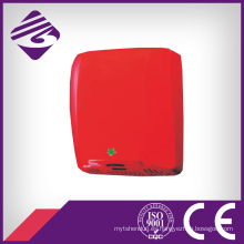 Secador de mano de acero inoxidable de pared rojo montado (JN72009)