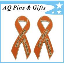 Pin personalizado de la cinta de la conciencia en buen precio y calidad (badge-135)