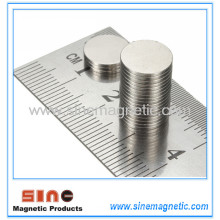 NdFeB Rare Earth Super Strong Round Neodymium Magnet N50 10X1mm Wholesale