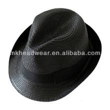 2014 baratos Unisex Promoción Sombrero de Fedora de paja de papel de promoción