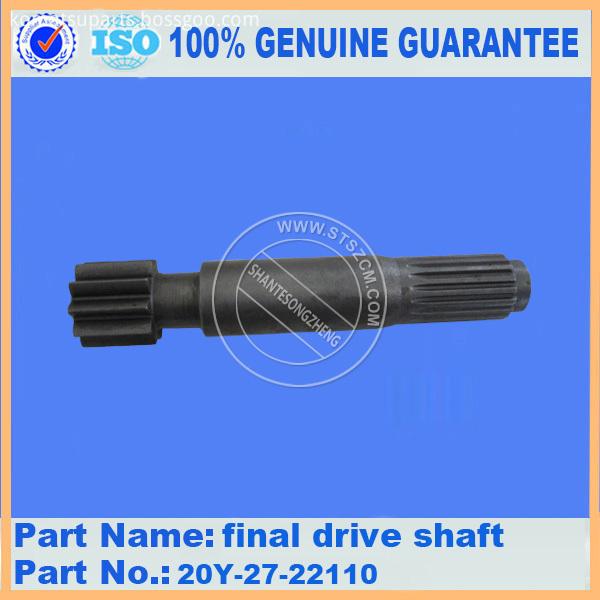 Pc200 6 Final Drive Shaft 20y 27 22110