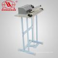 Tragbare Pedal Dichtungsmaschine mit 100/200/300/400/500 mm Impuls Dichtung Gerät und Kupfer Transformator
