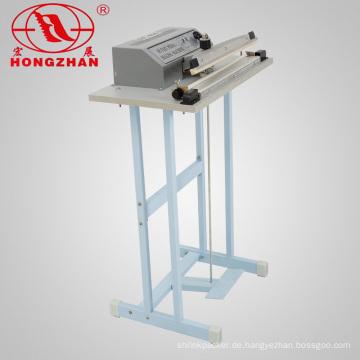 Doppelte Seite Impuls Pedal Dichtungsmaschine mit elektrischen Wire und Tube Elektroheizung für Gewebe Teeblatt und tägliche Ware