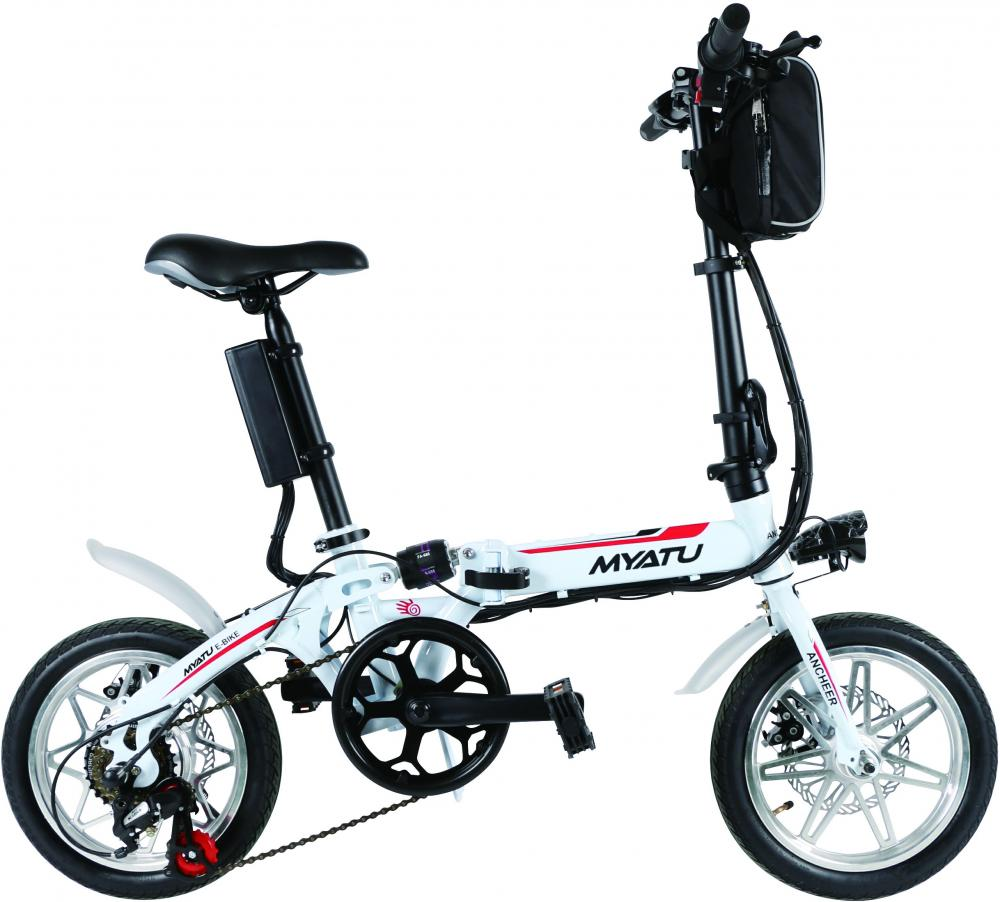 Folding Fat Tire Electric Bicycle