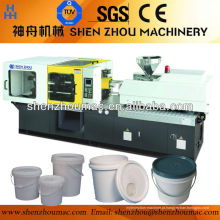 Máquina de moldagem por injeção para a fabricação de balde