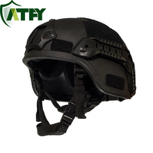 Level 4 Ballistic Helmet Kevlar Bulletproof Helmet Special Forces Helmet Resist .44 Bullets  100% Kevlar Material