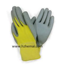 Aramid Fiber Cut Resistant 5 PU Beschichtete Arbeitshandschuh