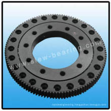 small slewing bearing customized size with phosphating external gear