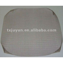 Non-stick PTFE Coated fibra de vidro Mesh Grill Basket