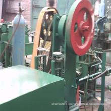 Enderezadora de alambrón y máquina de corte