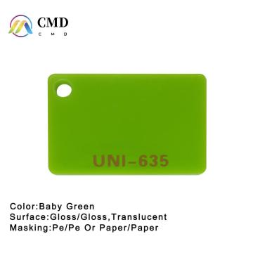 Акрил Baby Green Color
