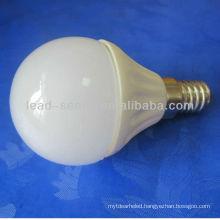 E14 ceramic housing G45 led bulb 5w