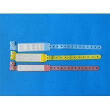 Plástico banda de identificação para atacado