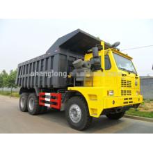 China HOWO 50 Ton Dump Truck 6X4 für Mine Truck