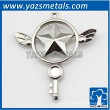 Personalizada figura 3D insignia de metal de artesanía