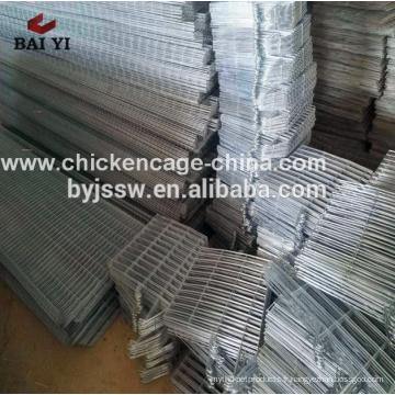 Cages de batterie de volaille de poulet de couche de 4 couches pour la ferme nigériane