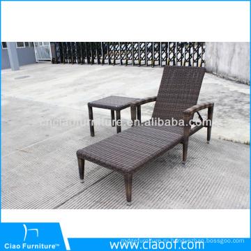 Садовая мебель для отдыха шезлонг плетеная шезлонг