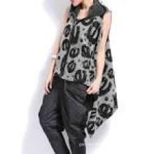 Dame Young Fashion Pullover Lange Sleeveness Strickjacke Strickwaren